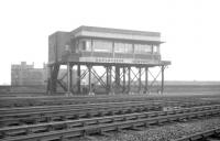 The memorable Manchester Central signal box, photographed on 3 May 1969.<br><br>[K A Gray&nbsp;03/05/1969]