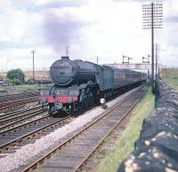 St Margarets V2 no 60971 heads west at Saughton Junction in the summer of 1959.<br><br>[A Snapper (Courtesy Bruce McCartney)&nbsp;18/07/1959]