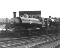 No 51412, an Aspinall rebuild of an original L&Y class 23 2F 0-6-0ST dating from 1895. Photographed in use as a service locomotive at Crewe Works on 24 June 1962, some 3 months before withdrawal.<br><br>[David Pesterfield&nbsp;24/06/1962]