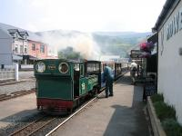 No 759 at Fairbourne station on the narrow gauge Fairbourne Railway in July 2006. <br><br>[Bruce McCartney&nbsp;03/07/2006]