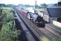 42808 heading for Glasgow at Lochside (now Lochwinnoch) on the 22nd of August 1959.<br><br>[A Snapper (Courtesy Bruce McCartney)&nbsp;22/08/1959]