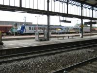 SNCF 7333 at Castelnaudary Station en route from Perpignon to Toulouse.<br><br>[Alistair MacKenzie&nbsp;20/10/2009]