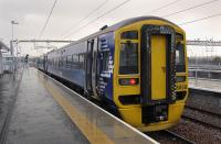 158868 at Bathgate (New) with the 12.54 to Edinburgh Waverley.<br><br>[Bill Roberton&nbsp;02/11/2010]