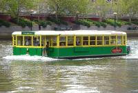A restaurant/cruise boat/ferry photographed on the Yarra River, Melbourne, Victoria, on 12 October 2010.<br><br>[Colin Miller&nbsp;12/10/2010]