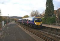 A First TransPennine DMU at Grindleford on 7 November heading east with Manchester Airport - Cleethorpes service.<br><br>[John McIntyre&nbsp;07/11/2010]