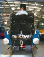 Star attraction at Shildon on 23 November 2010 is no 4468 <I>Mallard</I>, seen here in the main exhibition hall. The record-breaker arrived on loan from York NRM in June (having made the journey behind A1 Pacific no 60163 <I>Tornado</I>).<br><br>[John Furnevel&nbsp;23/11/2010]
