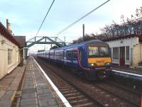 Survival of 322482 and it's four classmates have less than a month to go before the Airdrie to Bathgate class 334s take over the run which extends to Helensburgh in the west to North Berwick in the east. Will the famous five 322s survive?<br><br>[Brian Forbes&nbsp;18/11/2010]