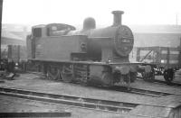 Fowler 0-6-0T no 47162 photographed on one of the turntable roads on the north side of the running lines at St Margarets shed in September 1958.<br><br>[Robin Barbour Collection (Courtesy Bruce McCartney)&nbsp;06/09/1958]