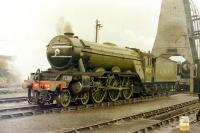 4472 <I>Flying Scotsman</I>, photographed at 'Steamtown', Carnforth, in 1975.<br><br>[Colin Miller&nbsp;//1975]