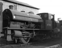 One of the five original Kitson 0F 0-4-0STs built in 1932, no 47001, stands on 41D Canklow shed on 13 March 1966 around the time of its official withdrawal.<br><br>[David Pesterfield&nbsp;13/03/1966]