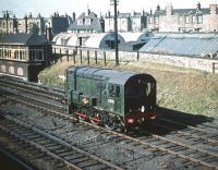 D3731 at Craigentinny in September 1959.<br><br>[A Snapper (Courtesy Bruce McCartney)&nbsp;30/09/1959]