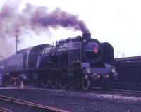 Looking as if it is heading for Paris at full speed, but actually on the demonstration line at Steamtown, is SNCF 231 K 22. This Pacific dated from 1920 and had worked until 1966. At this time it was owned by the late Dr Peter Beet, who rescued many steam locomotives, but it subsequently moved to a German heritage line.<br><br>[David Hindle&nbsp;//1976]