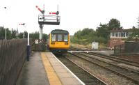 The 12.05 service to York (ex-Leeds) leaves Harrogate on 27 September 2010. <br><br>[John Furnevel&nbsp;27/09/2010]