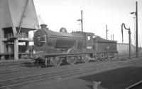 Class J37 0-6-0 no 64569 stands on Thornton Junction shed on 19 October 1965.<br><br>[K A Gray&nbsp;19/10/1965]