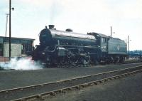B1 4-6-0 no 61292 on shed at 65A Eastfield in May 1959. <br><br>[A Snapper (Courtesy Bruce McCartney)&nbsp;23/05/1959]