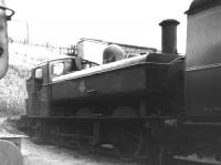 Collett 6400 class 2P 0-6-0PT no 6421 on 84H Wellington (Salop) Shed on 24 June 1962.<br><br>[David Pesterfield&nbsp;24/06/1962]