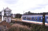 June hands over the token at Wroxham - 1993.<br> <br><br>[Ian Dinmore&nbsp;//1993]