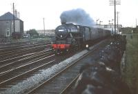 Black 5 no 44969 takes a train through Saughton Junction in July 1959. <br><br>[A Snapper (Courtesy Bruce McCartney)&nbsp;18/07/1959]