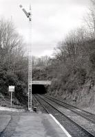 Southern mouth of tunnel at Farlie High in 1985, with down starter.<br><br>[Colin Miller&nbsp;//1985]