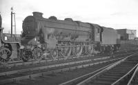 Scene at Crewe South in October 1961 with Black 5 no 44755 on shed.<br><br>[K A Gray&nbsp;01/10/1961]