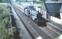 Black 5 no 45194 heads north with a train through Lochside in August 1959.<br><br>[A Snapper (Courtesy Bruce McCartney)&nbsp;22/08/1959]