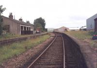 View north through the platforms at Ellon in April 1979.<br><br>[Ian Dinmore&nbsp;16/04/1979]