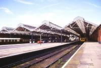 General view of Llandudno station in July 1986.<br><br>[Ian Dinmore&nbsp;/07/1986]