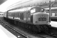 'Peak' 45054 following arrival at Aberdeen in 1974.<br> <br><br>[Bill Roberton&nbsp;//1974]