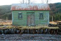 Winner of the 'fabulous bothy' competition 2011. This finely appointed shed graces the PW platform at Rannoch.<br><br>[Ewan Crawford&nbsp;/02/2011]