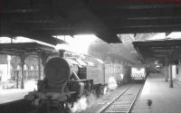 No 51 is station pilot at Belfast Great Victoria Street in August 1965.<br><br>[K A Gray&nbsp;26/08/1965]