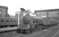 Canal shed's A3 no 60068 <I>Sir Visto</I> is about to take forward the last leg of the 09.15 St Pancras - Edinburgh Waverley train from Carlisle on 3 June 1960.<br><br>[K A Gray&nbsp;03/06/1960]