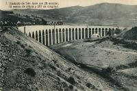 Viaduct de San Juan on the SNCF-RENFE Pau - Canfranc - Saragossa Line<br><br>[Alistair MacKenzie&nbsp;07/03/2011]