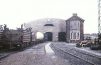 The locomotive shed and yard at Limerick in July 1988.<br><br>[Ian Dinmore&nbsp;/07/1988]