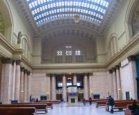 The Great Hall at Chicago's Union Station looking south on 23 March. The station opened in 1925 replacing an earlier version on the site dating from 1881.<br><br>[Mark Poustie&nbsp;23/03/2011]