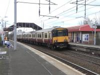 318 257 calls at Bellshill on 26 March with a Dalmuir service.<br><br>[David Panton&nbsp;26/03/2011]