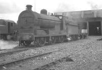 No 37 stands on Belfast's Adelaide shed on 26 August 1965.<br><br>[K A Gray&nbsp;26/08/1965]