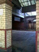 Detail of the platform area at Crewe station in February 2011: great for enthusiasts, but not for the general public. [See image 33426 for the converse]<br><br>[Ken Strachan&nbsp;05/02/2011]