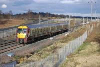 334 031 heads west away from Forrestfield on 2 April.<br><br>[Bill Roberton&nbsp;02/04/2011]
