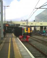 The recently installed South bay at Milton Keynes is platform 2a. It is rarely used, so here's the best shot I could get, with an up London train passing from platform 1<br><br>[Ken Strachan&nbsp;11/02/2011]