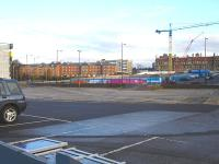 Late 2010 view across the former goods yard at Wakefield Westgate [see image 33645 for the scene twenty years earlier].<br><br>[David Pesterfield&nbsp;23/11/2010]
