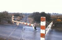 Opening the barriers at Lavalla Crossing near Gort, Co Galway, in 1988.<br><br>[Ian Dinmore&nbsp;//1988]