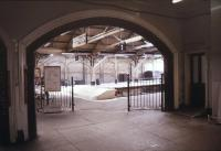 Entrance to Lowestoft station in March 1992.<br><br>[Ian Dinmore&nbsp;/03/1992]