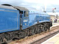 60007 stands at Stirling with the SRPS <I>Forth Circle</I> railtour on 24 April 2011.<br><br>[Mark Poustie&nbsp;24/04/2011]