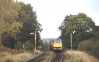 A Bletchley - Bedford train with class 31 locomotives front and rear, photographed near Ridgmont, Bedfordshire, on the Marston Vale line in September 1998.<br><br>[Ian Dinmore&nbsp;/09/1998]