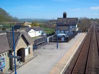 The attractive rural station of Clapham, North Yorshire, photographed on a fine and sunny afternoon in April 2011. View is south east, looking towards Settle Junction.<br><br>[Andrew Wilson&nbsp;17/04/2011]