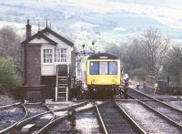 Scene at Pantyffynon in May 1988.<br><br>[Ian Dinmore&nbsp;/05/1988]