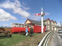 Donegal Railway Heritage Centre, housed at the former Donegal Town station (closed 1960). Seen here on 8 May 2011.<br><br>[John Yellowlees&nbsp;08/05/2011]