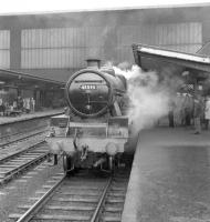 Jubilee 4-6-0 no 45593 <I>Kolhapur</I> photographed at Carlisle on 15 July 1967  shortly after bringing the 6.40am Birmingham New Street - Glasgow Central into platform 3.<br><br>[Robin Barbour Collection (Courtesy Bruce McCartney)&nbsp;15/07/1967]