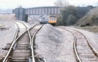 The Hazel Grove spur a month after opening in June 1986.<br><br>[Ian Dinmore&nbsp;/06/1986]