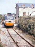 A Newquay - London HST nears Bugle station in 1993.<br><br>[Ian Dinmore&nbsp;//1993]